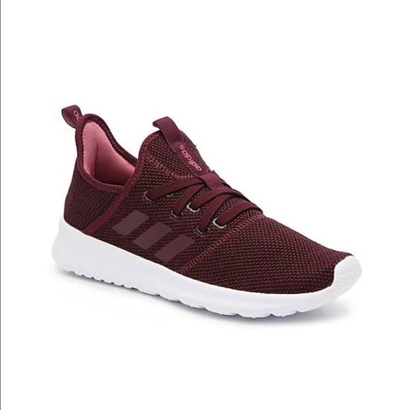 salvar horno Inspector  adidas Shoes | Cloudfoam Maroon Sneakers | Poshmark